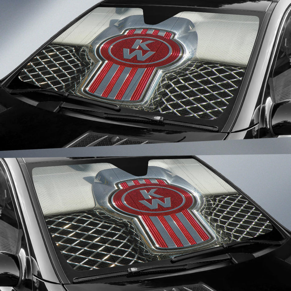 Kenworth Windshield Sun Shade V4  With FREE SHIPPING!