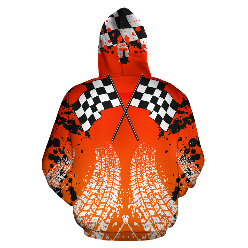 Racing All Over Print Hoodie With FREE SHIPPING TODAY!