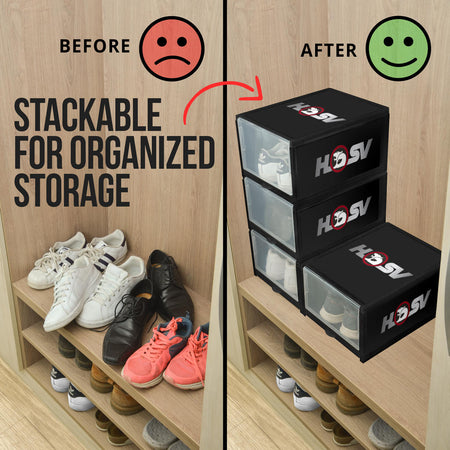 HSV Shoe Organizer Black
