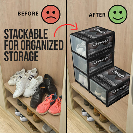 Jeep Shoe Organizer V4