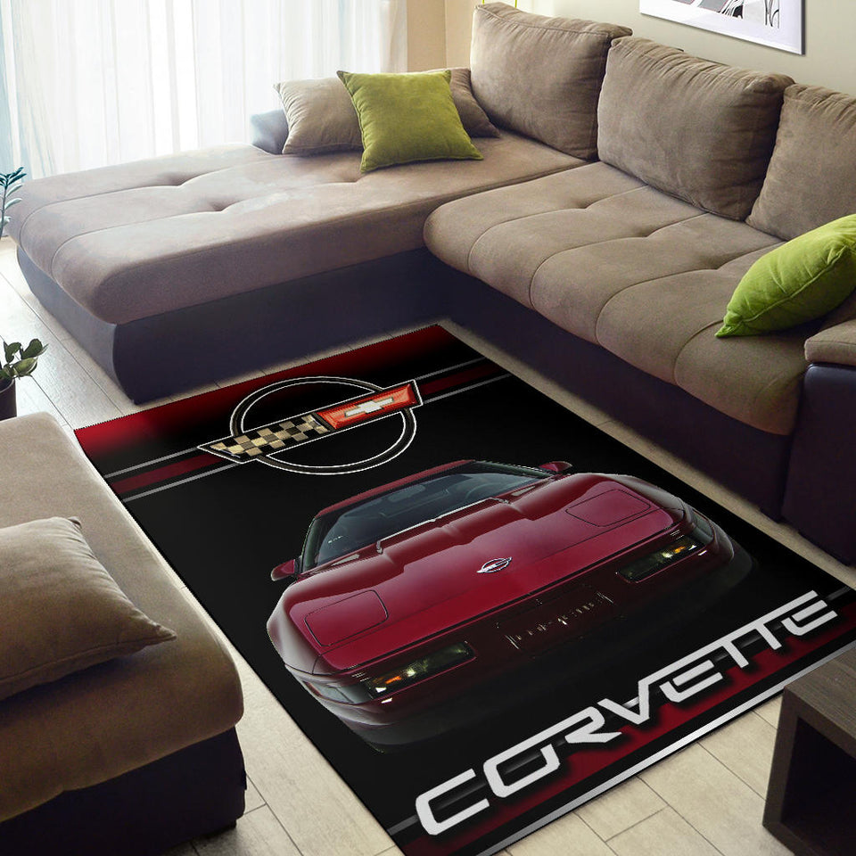 Corvette C4 Rug Version 1 With FREE SHIPPING!