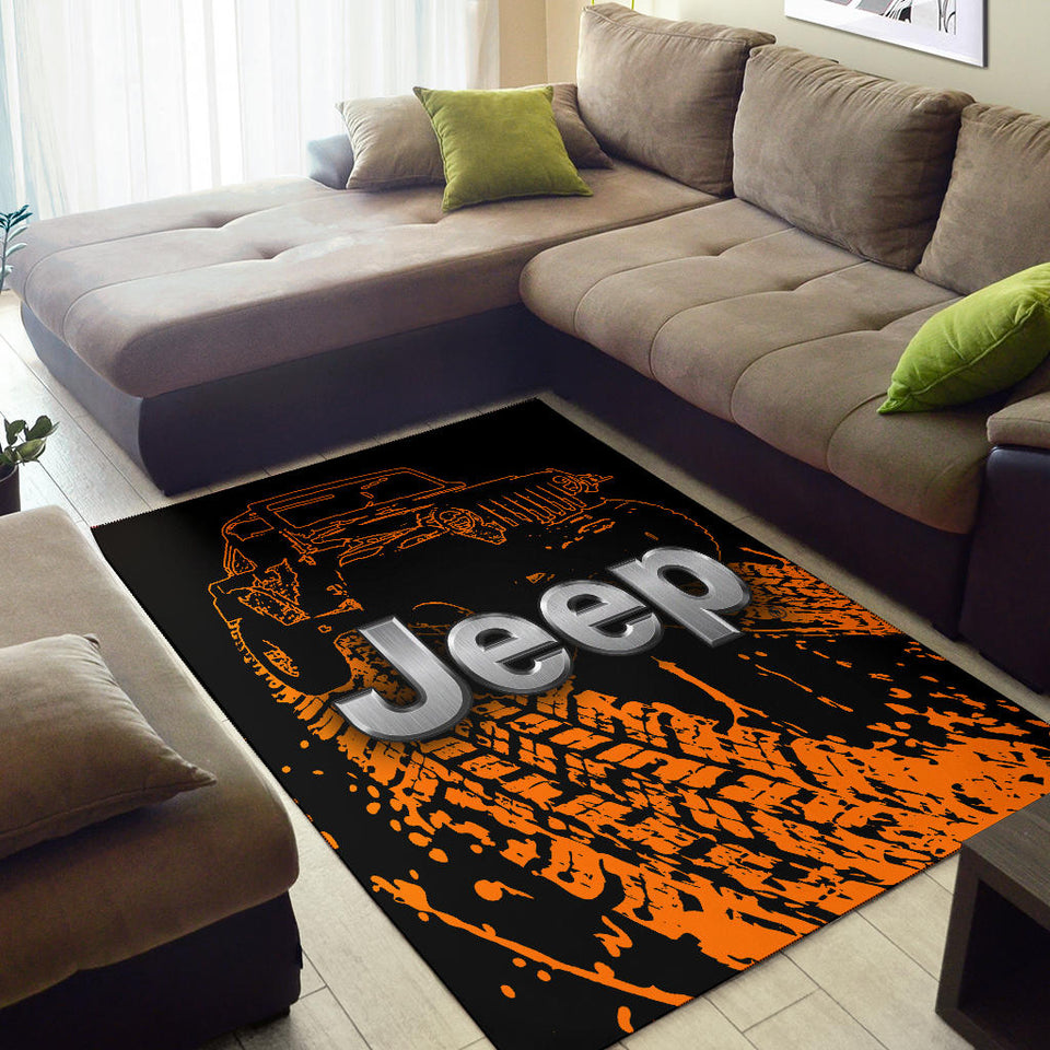 Jeep Rug Version 1 With FREE SHIPPING!