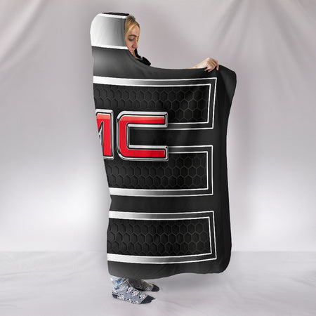 GMC Hooded Blanket With FREE SHIPPING TODAY!
