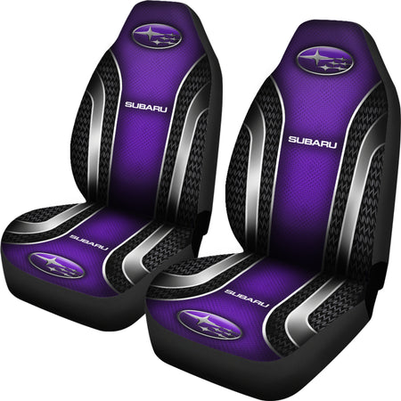 2 Front Subaru Seat Covers Purple With FREE SHIPPING TODAY!
