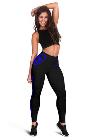 Scania Leggings Blue