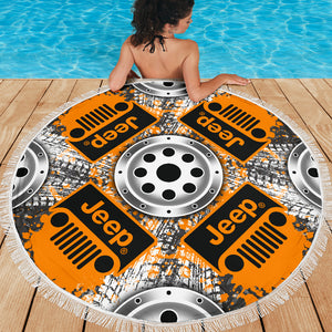 Jeep Beach Blanket With FREE SHIPPING!