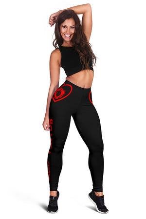 Scania Leggings Red