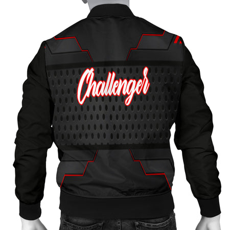 Dodge Challenger Men's Bomber Jacket MX