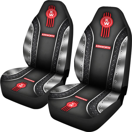 2 Front Kenworth Seat Covers With FREE SHIPPING TODAY!