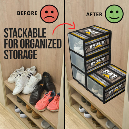 Caterpillar Shoe Organizer V2