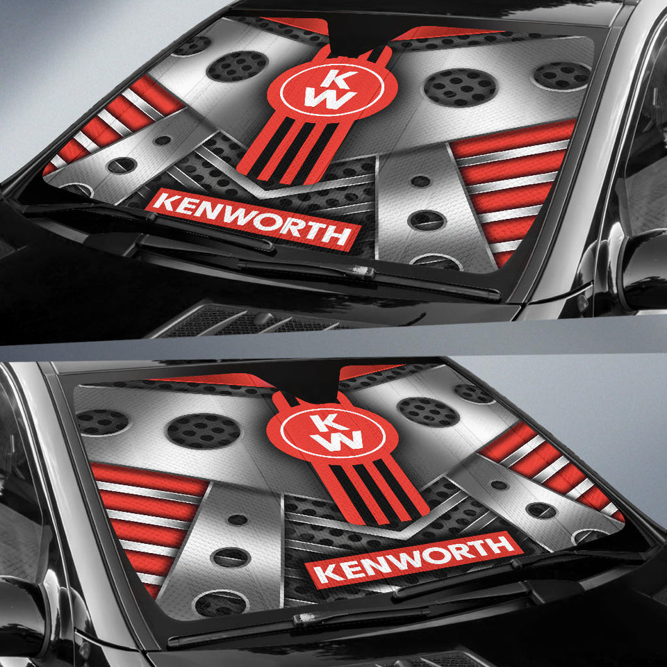 Kenworth Windshield Sun Shade V7 With FREE SHIPPING!