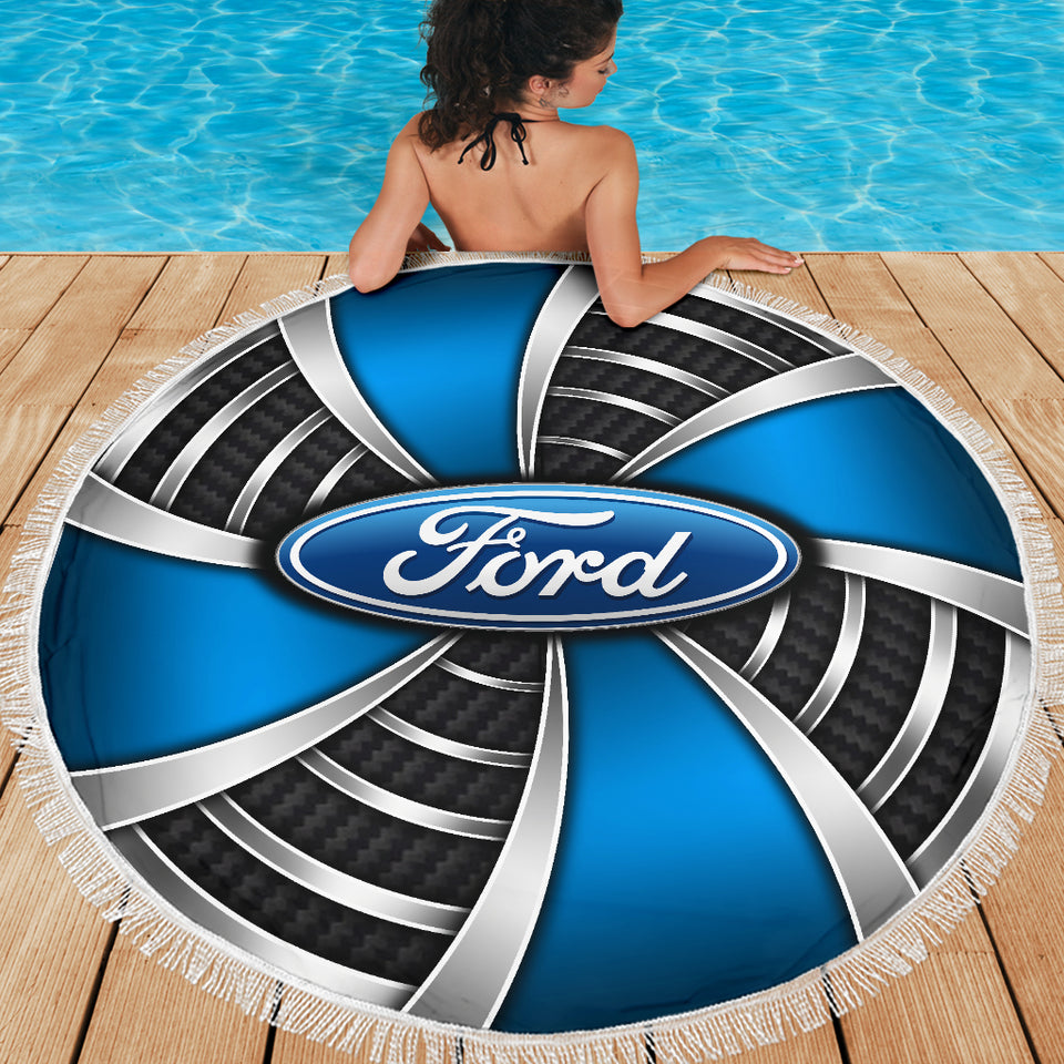 Ford beach Blanket With FREE SHIPPING!