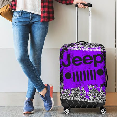Jeep Luggage Cover Purple With FREE SHIPPING!