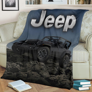 Jeep Blanket V2 With FREE SHIPPING!
