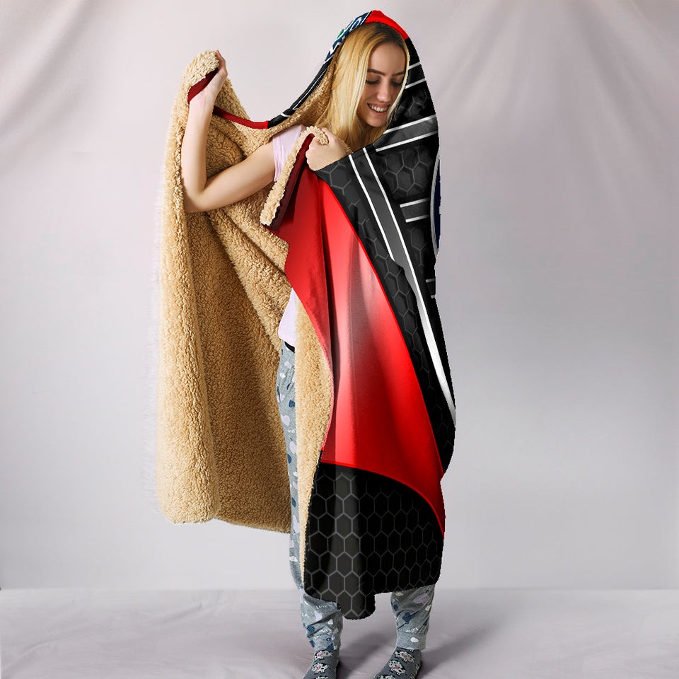 Alfa Romeo Hooded Blanket Red With FREE SHIPPING TODAY!