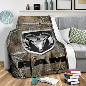 Ram Truck Camo Blanket With FREE SHIPPING!