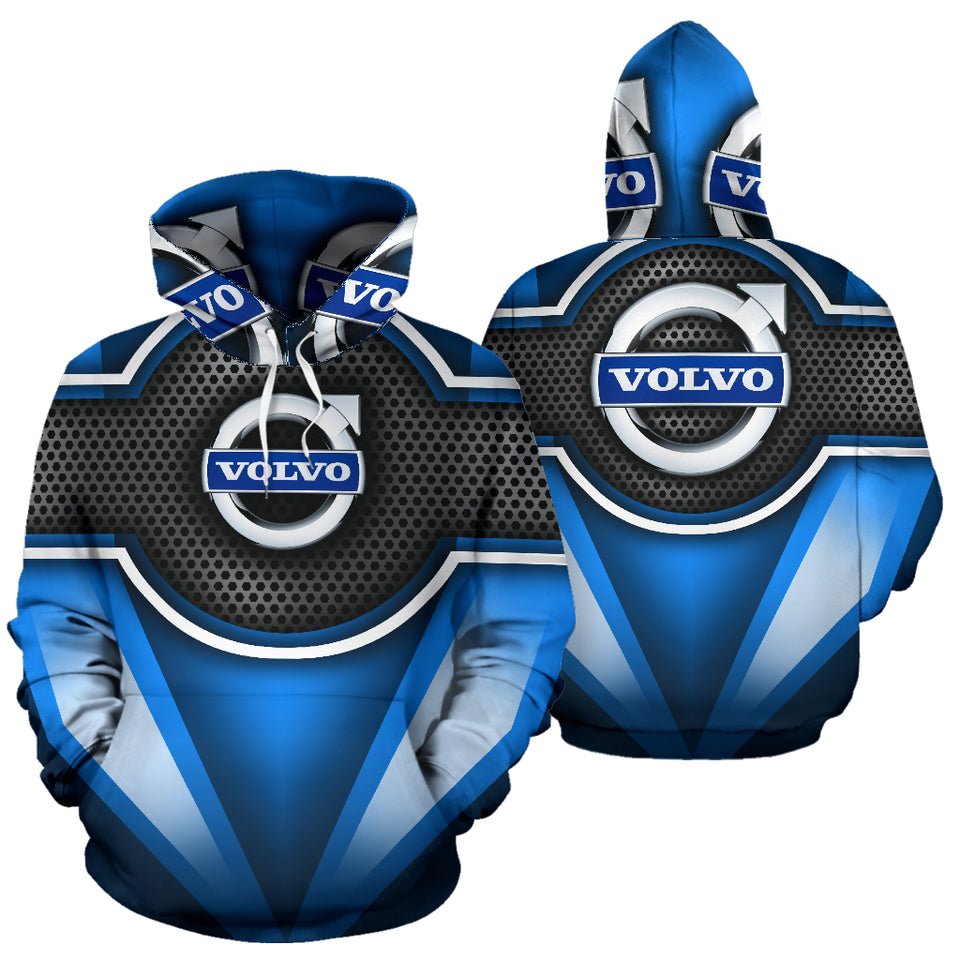 Volvo All Over Print Hoodie With FREE SHIPPING TODAY!