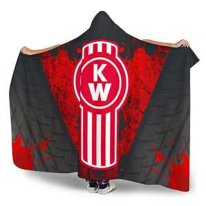 Kenworth Hooded Blanket New With FREE SHIPPING!