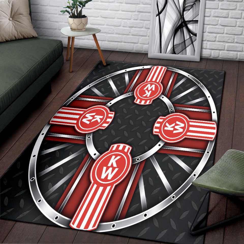 Kenworth Rug Version 10 With FREE SHIPPING!!