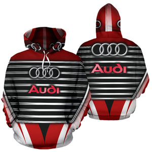 Audi All Over Print Hoodie With FREE SHIPPING TODAY!