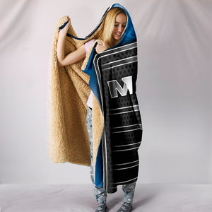 Mack Hooded Blanket Blue With FREE SHIPPING TODAY!