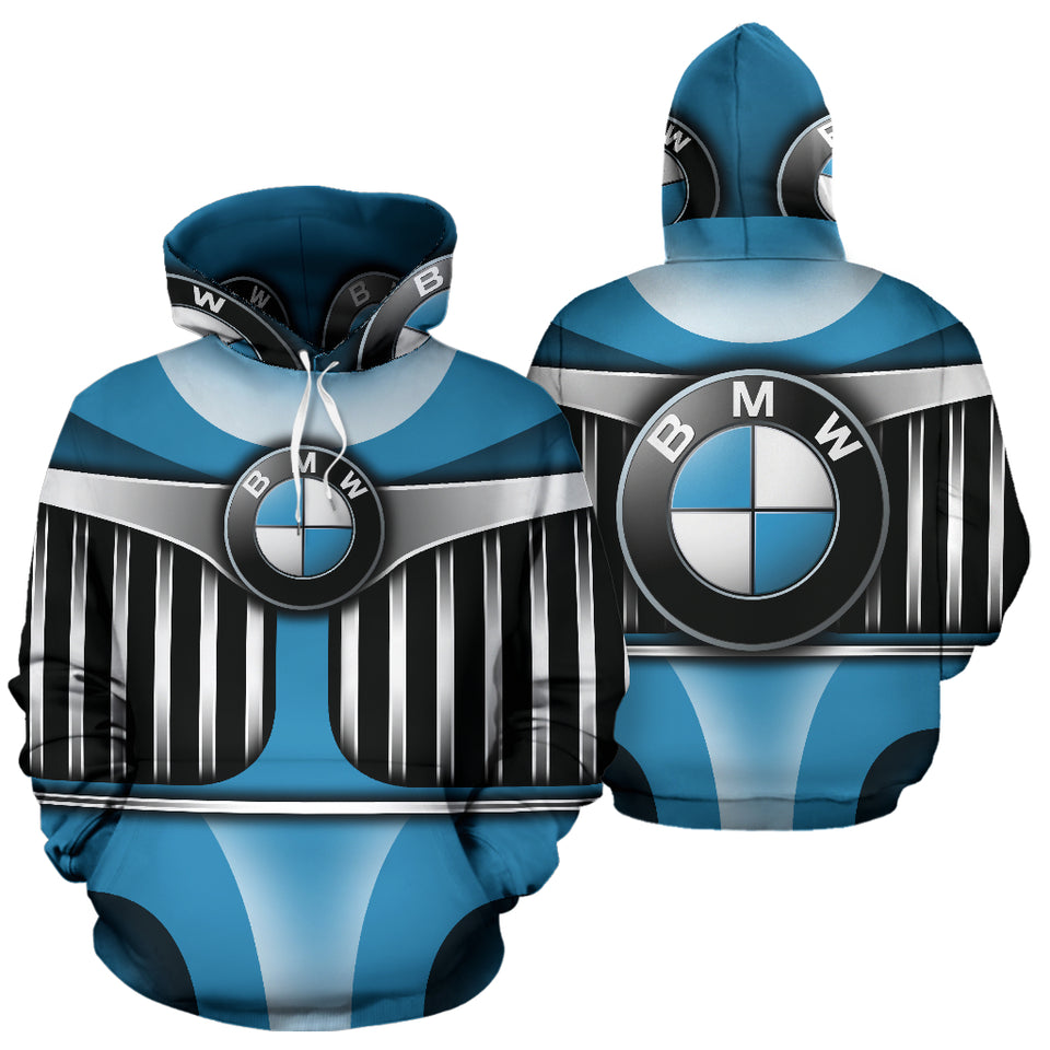 BMW All Over Print Hoodie With FREE SHIPPING TODAY!