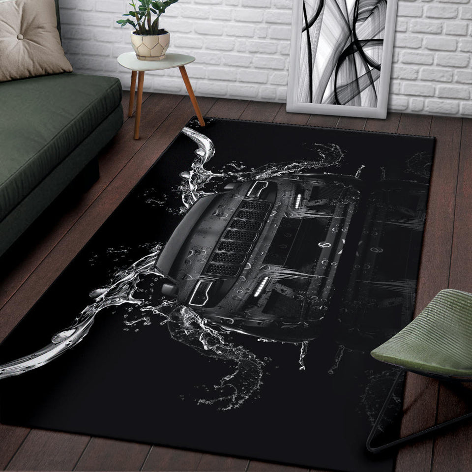 Jeep Rug Version 11 With FREE SHIPPING!