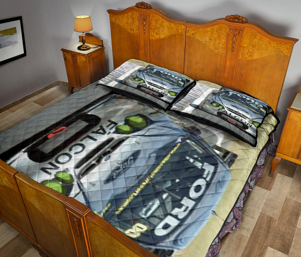 Ford Falcon Quilt Bed Set