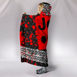 Jeep Hooded Blanket Red With FREE SHIPPING TODAY!