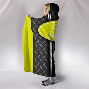 Ford Hooded Blanket Yellow With FREE SHIPPING TODAY!