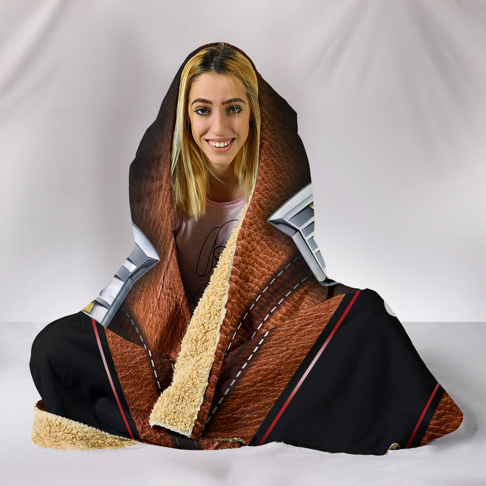 Cadillac Hooded Blanket With FREE SHIPPING TODAY!