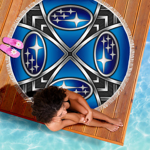 Subaru Beach Blanket With FREE SHIPPING!