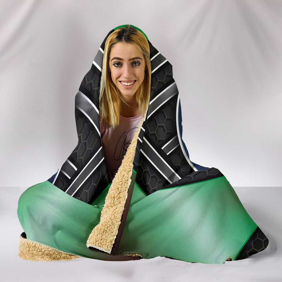 Alfa Romeo Hooded Blanket Green With FREE SHIPPING TODAY!