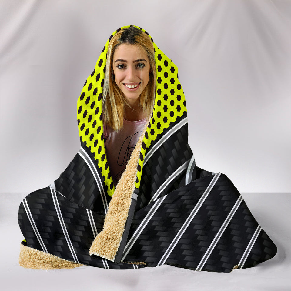 Hyundai Hooded Blanket Yellow With FREE SHIPPING TODAY!