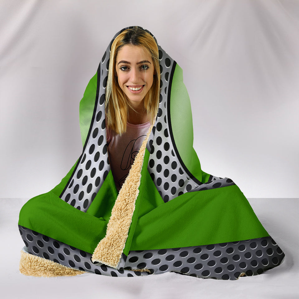 Mopar Hooded Blanket Green Version With FREE SHIPPING TODAY!