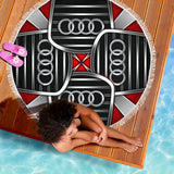 Audi Beach Blanket With FREE SHIPPING!