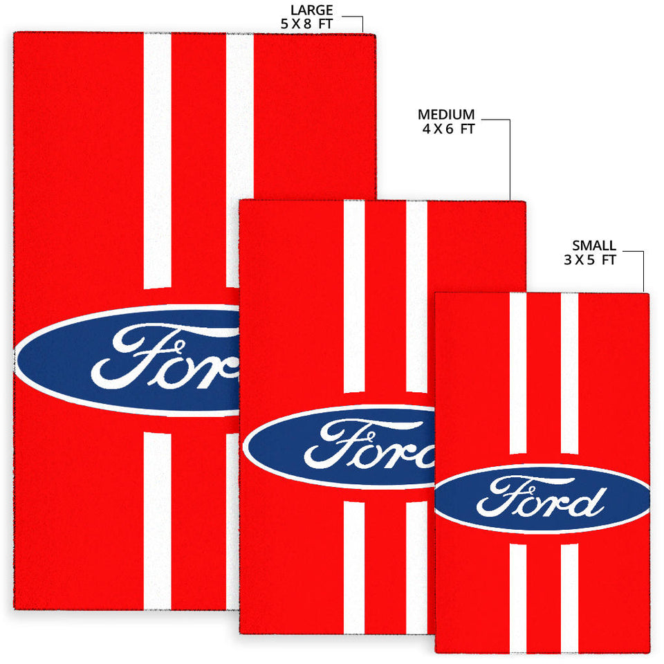 Ford Rug Version 4 With FREE SHIPPING!!