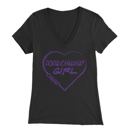 Dodge Challenger Heart T-Shirts!