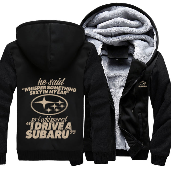 He Said Whisper Something Sexy In My Ear Subaru Jacket With FREE SHIPPING!