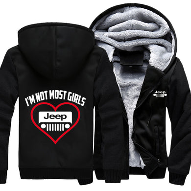 I'm Not Most Girls Jeep Jacket With FREE SHIPPING!
