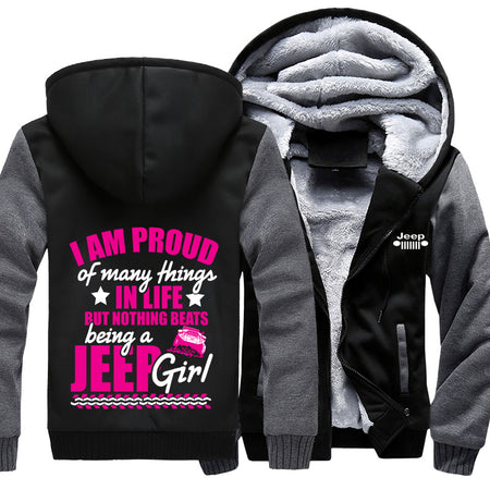 I'm Proud Of Many Things Jeep Jacket With FREE SHIPPING!