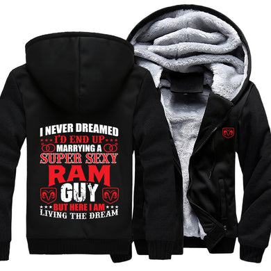 I Never Dreamed I'd End Up Marrying A Super Sexy RAM Guy Jacket With Free Shipping!