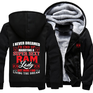 I Never Dreamed I'd End Up Marrying A Super Sexy RAM Lady Jacket With Free Shipping!