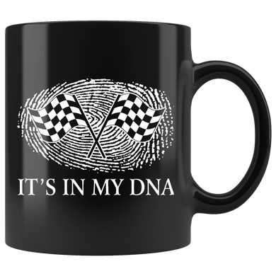 Racing It's In My DNA Mug