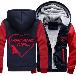Super Warm Mustang Girl Jackets With FREE SHIPPING!