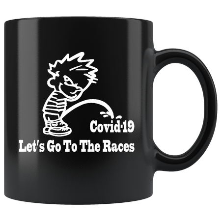 Let's Go To The Races Mug!