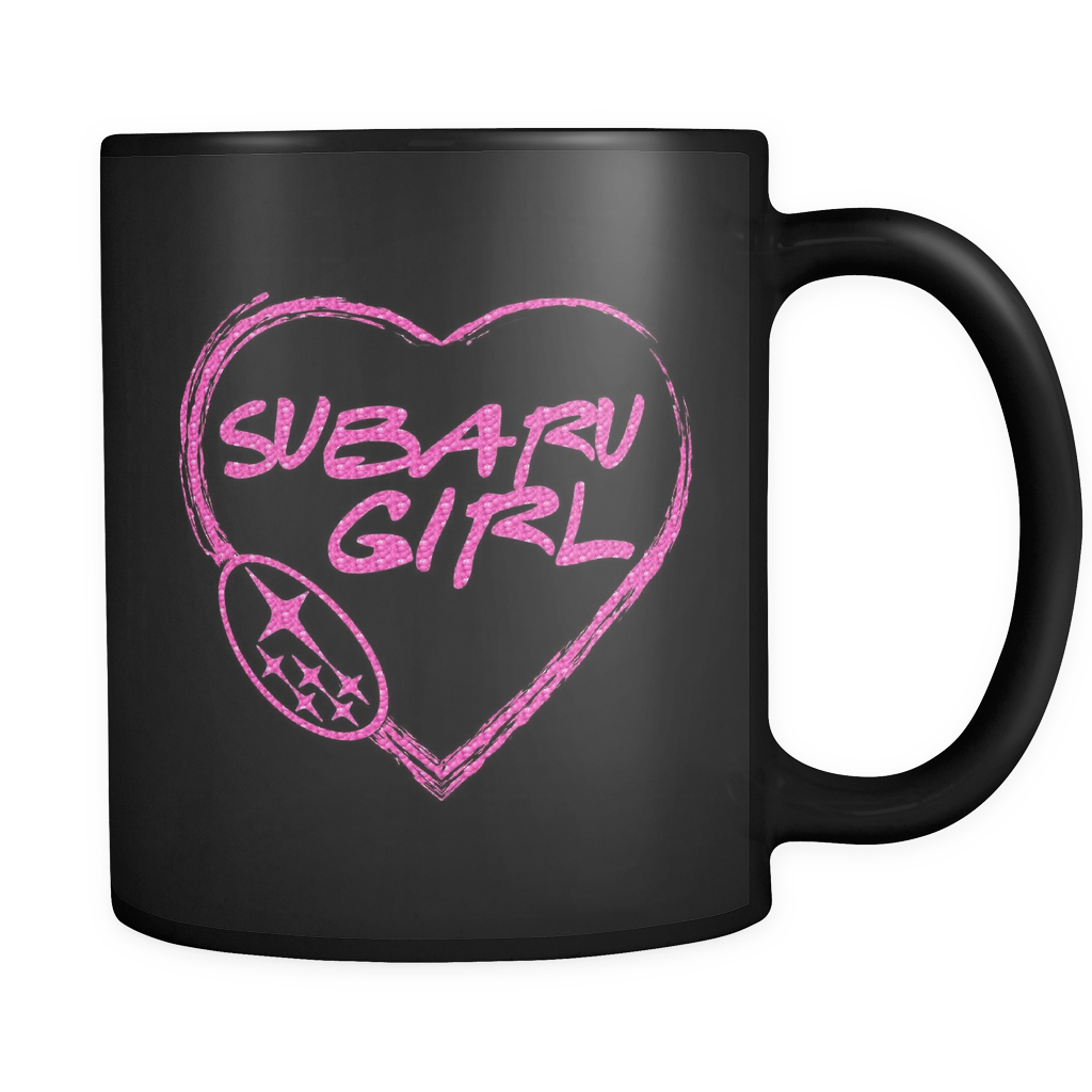 Subaru Girl Heart Mug
