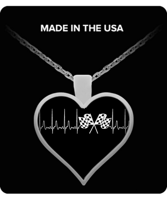A Must Have - Racing Heartbeat Necklace!