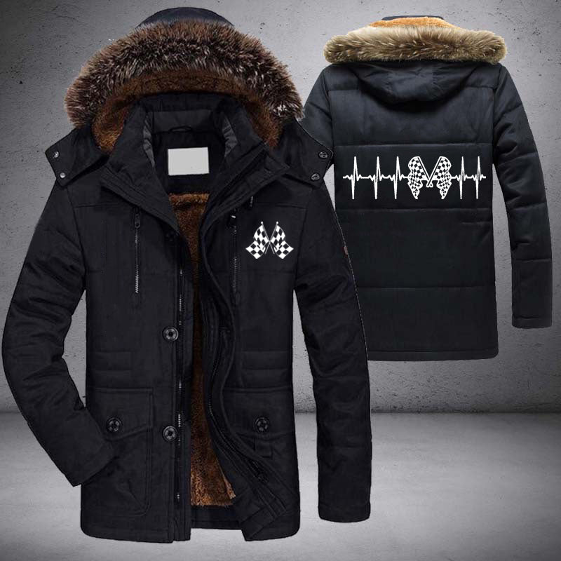 Racing Heartbeat Coat With FREE SHIPPING!