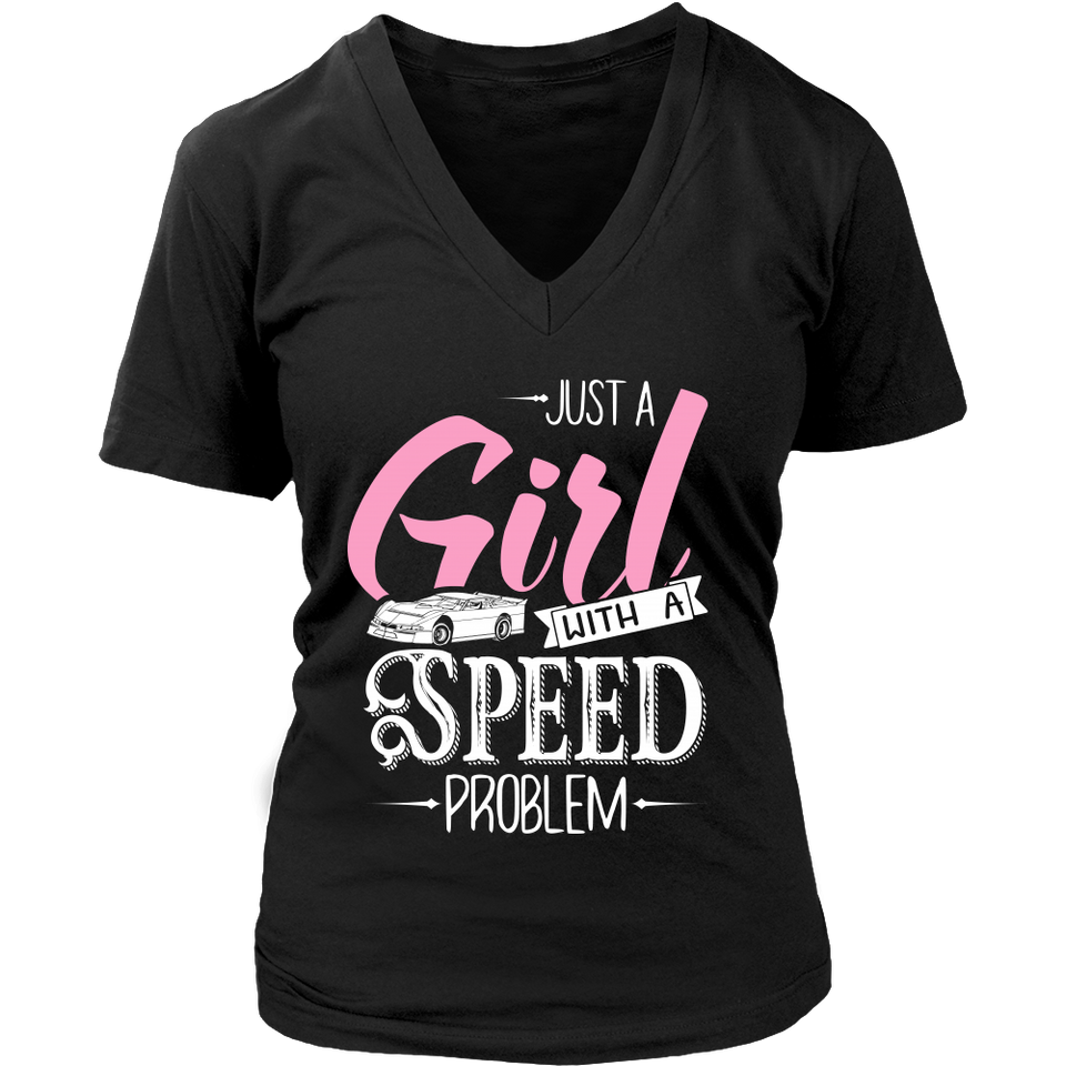 Just a Girl With a Speed Problem Racing